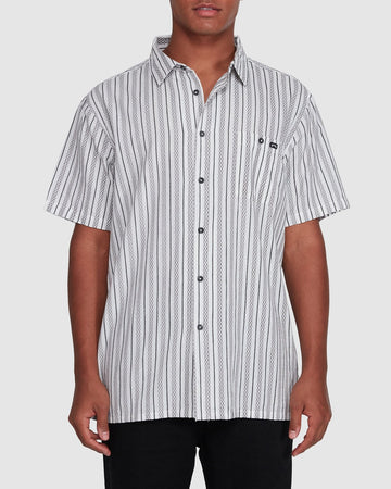 BILLABONG SUNDAYS JACQUARD SS 9503204-O05 SHIRT SHORT SLEEVE (M)