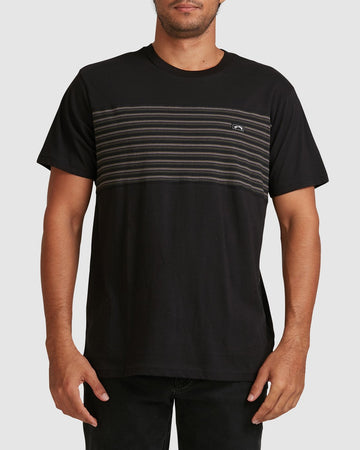 BILLABONG 9517019-BLK T-SHIRT SHORT SLEEVE (M)