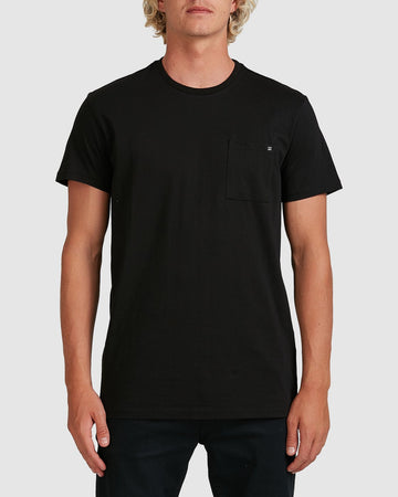 BILLABONG PREMIUM POCKET 9562046-BLK T-SHIRT SHORT SLEEVE (M)