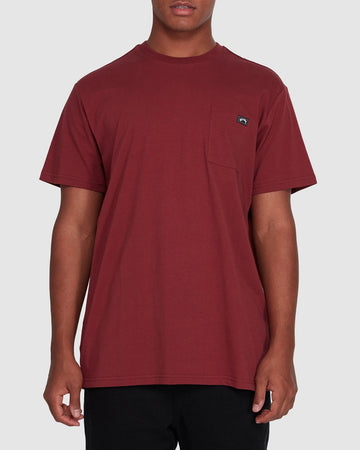 BILLABONG PREMIUM POCKET 9562046-D56 T-SHIRT SHORT SLEEVE (M)