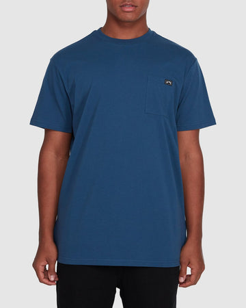 BILLABONG PREMIUM POCKET 9562046-DNB T-SHIRT SHORT SLEEVE (M)