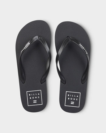 BILLABONG STACKED THONGS 9691952-BLK FLIP FLOP (M)