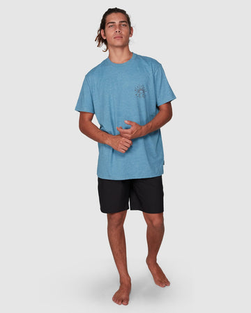 BILLABONG DIRECTIONAL UPF 50 SURF 9707510-DMH T-SHIRT SHORT SLEEVE (M)