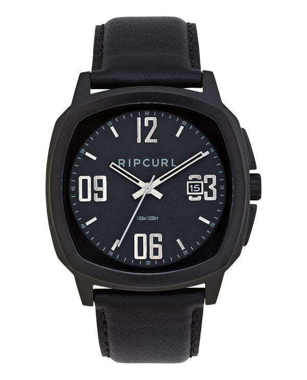 Rip Curl Nomad Midnight Leather A3217-4029 Wrist Watch (m)