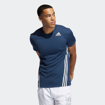 ADIDAS AERO 3S TEE GM1066 T-SHIRT SHORT SLEEVE TRAINING (M)