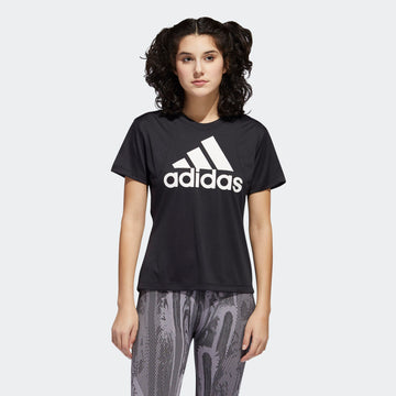 Adidas Badge Of Sport Logo FT3078 Top Short Sleeve Training (W)