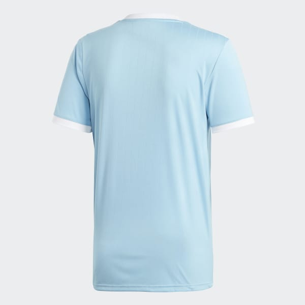 adidas Tabela Light Blue Jersery Short Sleeve (m)