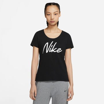 Nike Dri-FIT CQ0259-010 Top Short Sleeve Training (W)