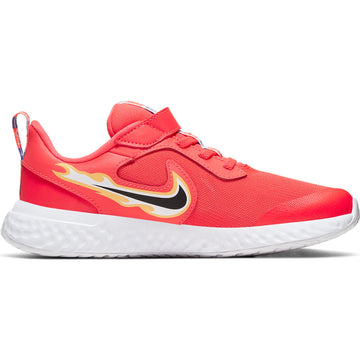 Nike Revolution 5 Fire CW1445-600 Running Shoes Young Girls