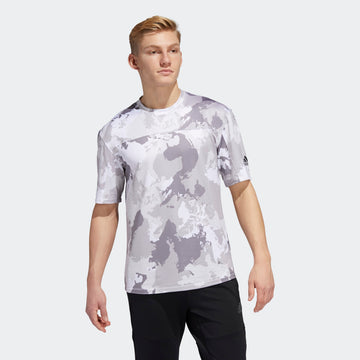 ADIDAS CON CAMO GC8263 T-SHIRT SHORT SLEEVE TRAINING (M)