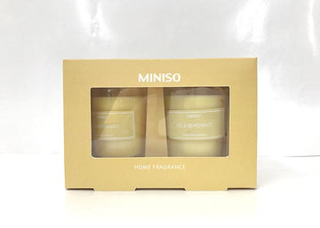 MINISO SCENTED CANDLE 2 PACK(FOREST SPA) 2008191612109 CANDLE