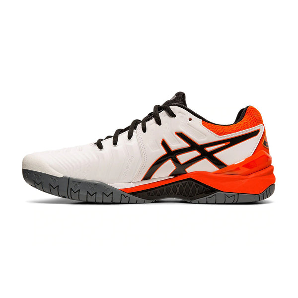 Asics Gel Resolution 7 E701Y-100 Tennis Shoes (M)