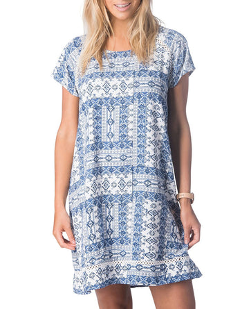 Rip Curl Ishka Sun Dress GDRGK1-1000 Dress Knee Length (W)