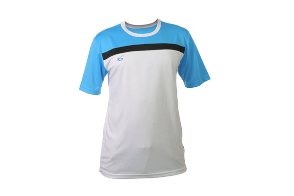 K6 ASN178 White Jersey Short Sleeve Football (m)