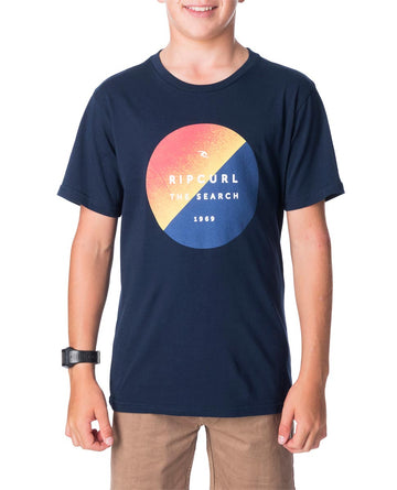 Ripcurl Eclipse-70 T-Shirt Short Sleeve Young Boys