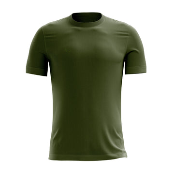 K6 Dark Green / MV-001S Jersey Short Sleeve Football (m)