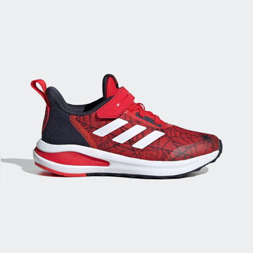 ADIDAS FORTARUN SPIDER-MAN EL K FV4192 RUNNING SHOES (YB)