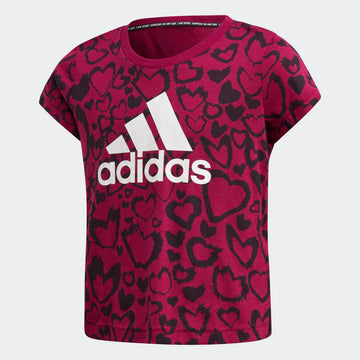 ADIDAS G MH GRA GE0939 TOP SHORT SLEEVE TRAINING (YG)