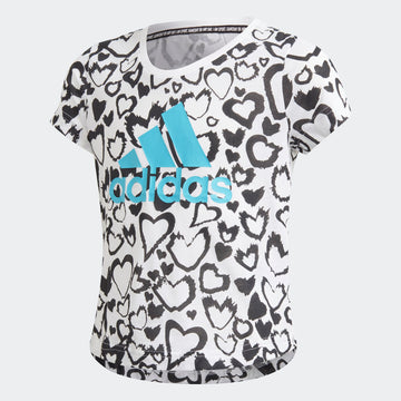 ADIDAS G MH GRA TEE GE0937 TOP SHORT SLEEVE TRAINING (YG)