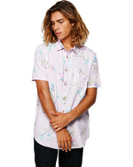Billabong Sundays Floral Rayon 9592202S T-Shirt Short Sleeve (M)