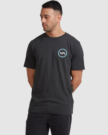 BILLABONG R317085-PTK T-SHIRT SHORT SLEEVE (M)