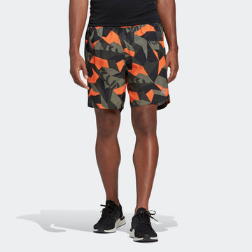 ADIDAS RUN IT CAMO FT0483 T-SHIRT SHORT SLEEVE RUNNING (M)