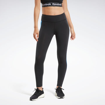 REEBOK E Linear Logo C Legging FU2179 TIGHT FULL LENGTH RUNNING (W)