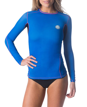 Ripcurl Mirage-70 Rash Guard Long Sleeve (w)