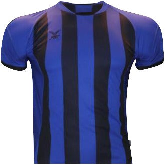 Fbt Blue Jersey Short Sleeve Football (M) Uniform