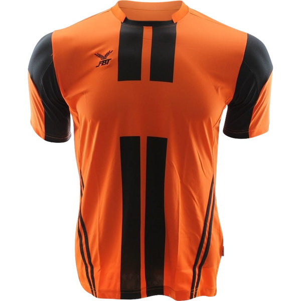 Fbt Orange Short Sleeve Football Jersey Uniform