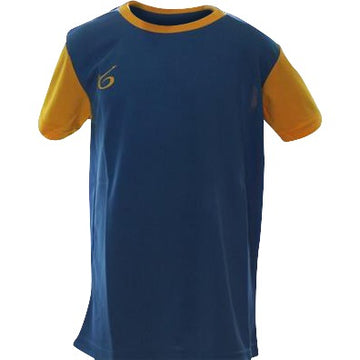 Uniform K6 Blue Jersey Short Sleeve Football (Yb