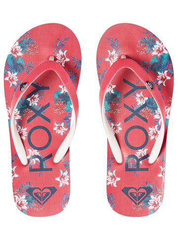 Roxy Pebbles ARGL100182-HPN Flip Flop Young Girls