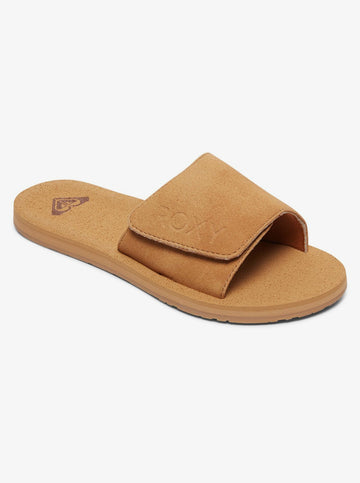 ROXY BETTE J ARJL100844-TAN SANDAL (W)