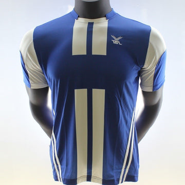 Fbt Blue Short Sleeve Football Jersey Uniform