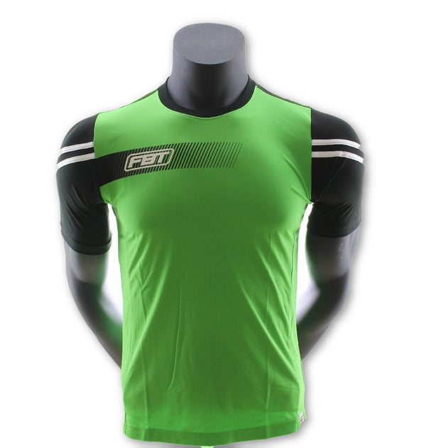 Fbt L.Green Jersey Short Sleeve Football  Uniform