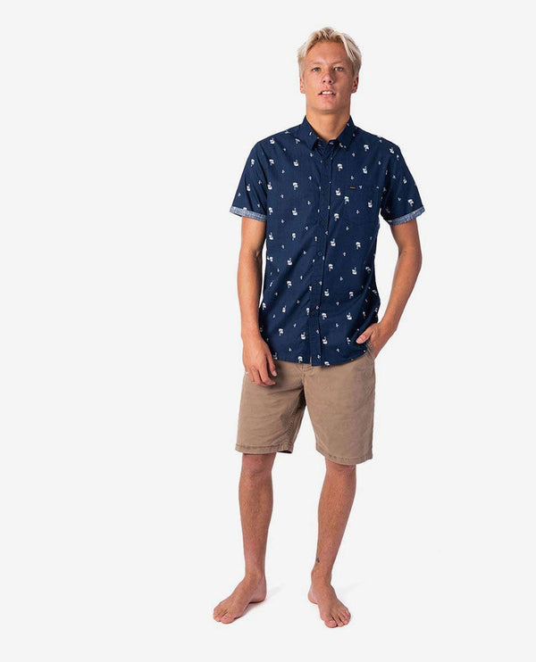 Ripcurl Palm day CSHMJ1-49 Shirt Short Sleeve (m)