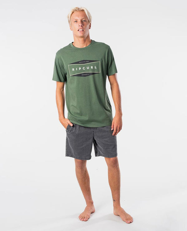 Rip Curl The Daly TEE CTEKK9-9389 T-Shirt Short Sleeve (M)