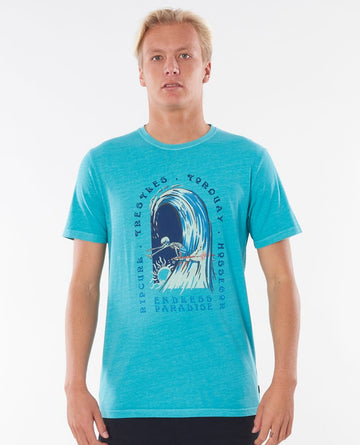RIP CURL ENDLESS PARADISE CTEOZ9-4821 T-SHIRT SHORT SLEEVE (M)