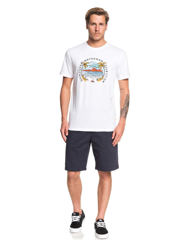 Quiksilver Waterman Breakfast Sets EQMZT03166-WBB0 T-Shirt Short Sleeve (M)