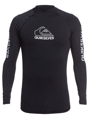 QUIKSILVER ONTOURLS EQYWR03259-KVD0 RASH GUARD LONG SLEEVE (M)