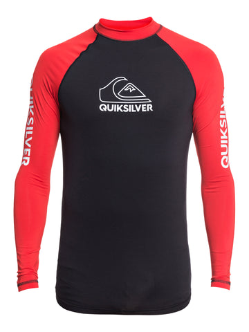 QUIKSILVER ONTOURLS EQYWR03259-RQC0 RASH GUARD LONG SLEEVE (M)