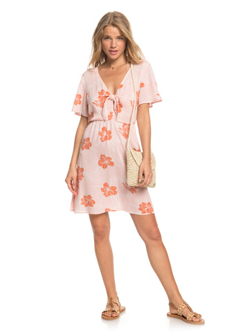 ROXY SUMMER ON TOP ERJWD03457-MFC7 DRESS KNEE LENGHT(W)
