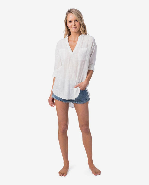Rip Curl Koa Ii BEACH Shirt GSHFQ1-1000 Shirt Long Sleeve (W)