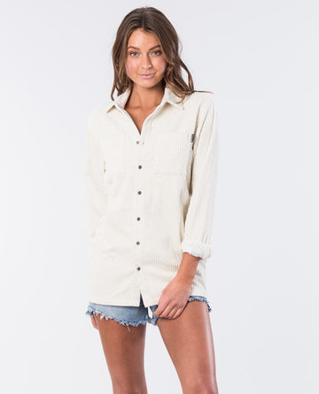 Rip Curl Courtney Cord GSHGJ1-3021 Shirt Long Sleeve (W)