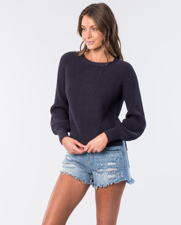 Rip Curl Coco Crew GSWHB1-4285 Fashion Top Long Sleeve (W)