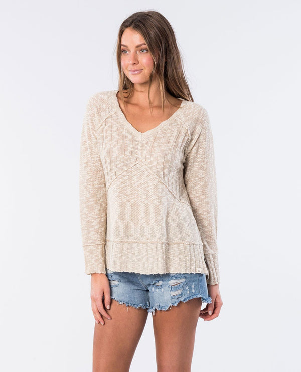 Rip Curl Reflection Ii PULLOVER GSWHN1-31 Fashion Top Long Sleeve (W)