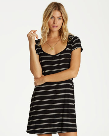 Billabong Right JD03VBRI-BLA Dress Knee Length (W)