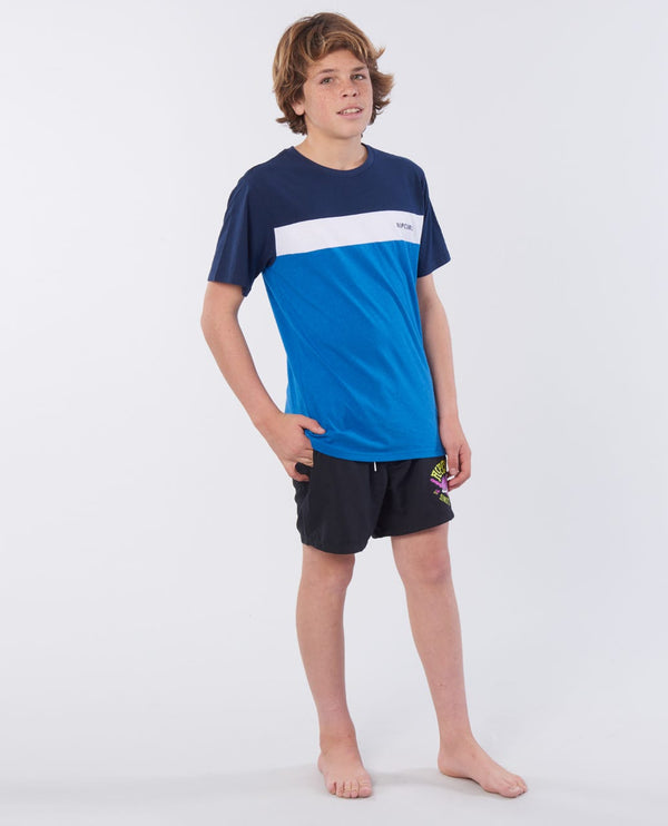 Rip Curl Undertow Panel TEE-BOY KTESG2-8684 T-Shirt Short Sleeve Young Boys