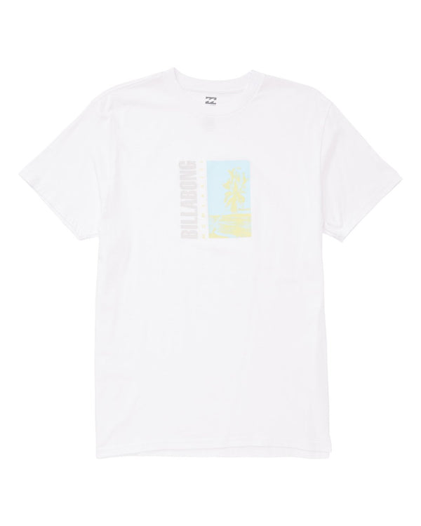 Billabong Burn M404UBBU-WHI T-Shirt Short Sleeve (M)