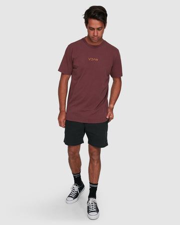 RVCA MINI FLIPPED R105048-MLT T-SHIRT SHORT SLEEVE (M)